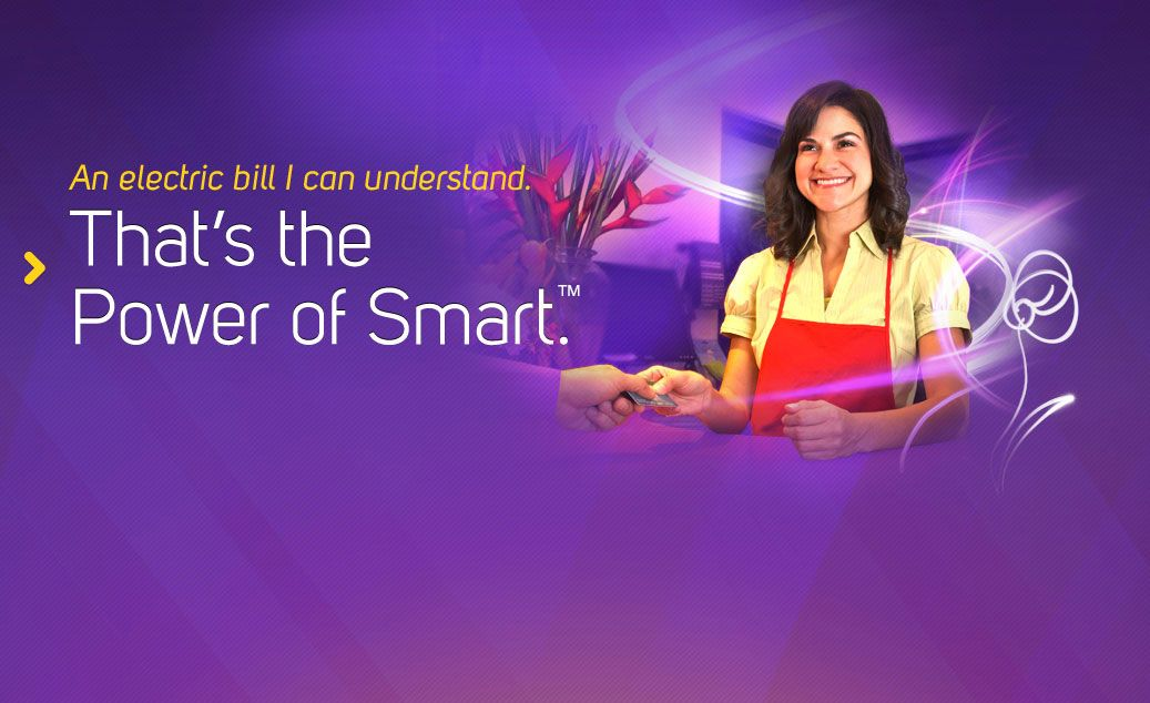 An energy bill you can understand That's the Power of
