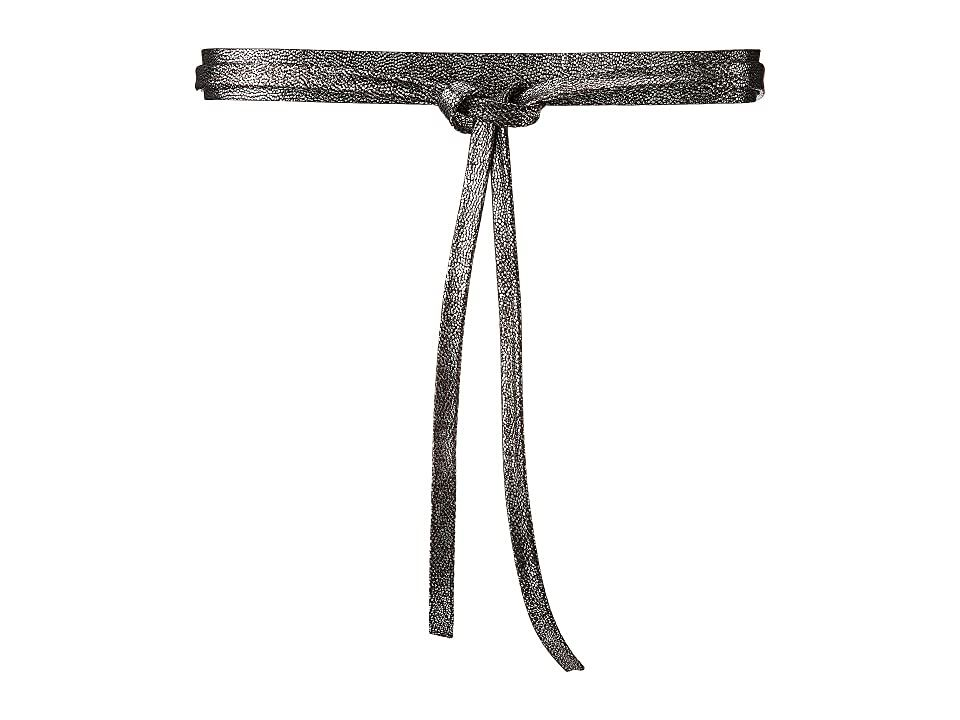 ADA Collection Skinny Wrap Belt (Pegasus Silver) Women's Belts. The chic ADA Collection Skinny Wrap Belt is the perfect accessory for your ensemble. Made of genuine Argentinean leather for a luxurious feel. Wrap belt style. Measurements: Width: 1 in Weight: 2.4 oz #ADACollection #Apparel #Bottom #Belts #Silver