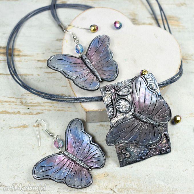 b1ea4aa5e1e5 Komplet biżuterii motyle .  20