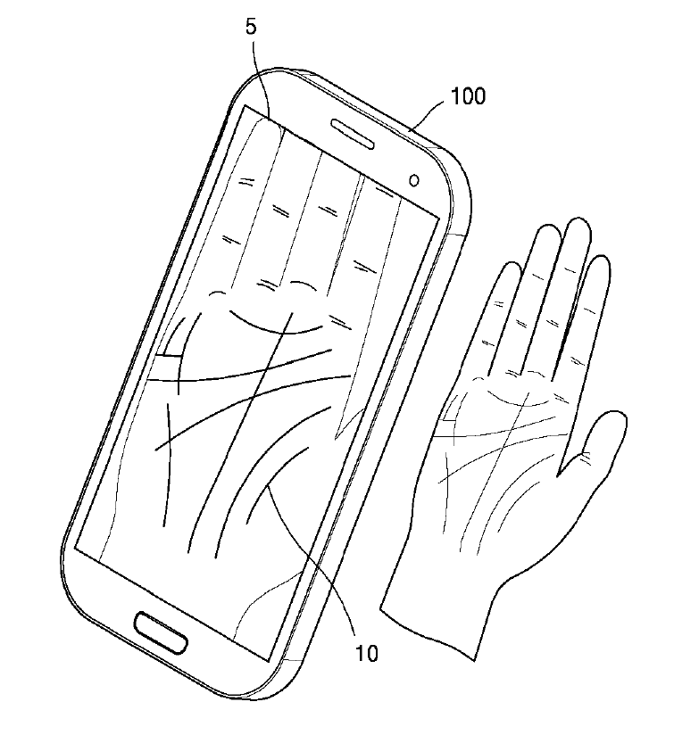 Samsung phones might read your palm for revealing the