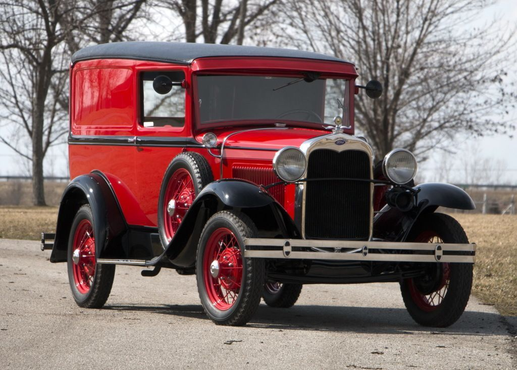 193031 Ford Model A Deluxe Delivery Ford classic cars