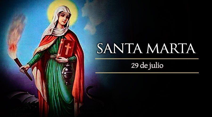 Hoy La Iglesia Católica Celebra A Santa Marta Patrona De Las Cocineras Y Amas De Casa Santa Marta Virgen Dia De Santa Marta Martes Santo