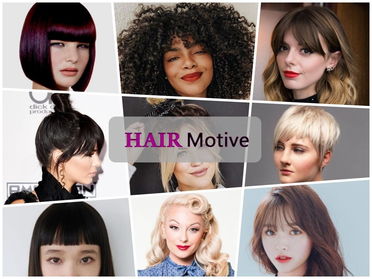 Discover All The Different Types Of Bangs And Their Names As Well As Which Bangs Styles Are The Best For Hair Styles Haircuts With Bangs Long Weave Hairstyles