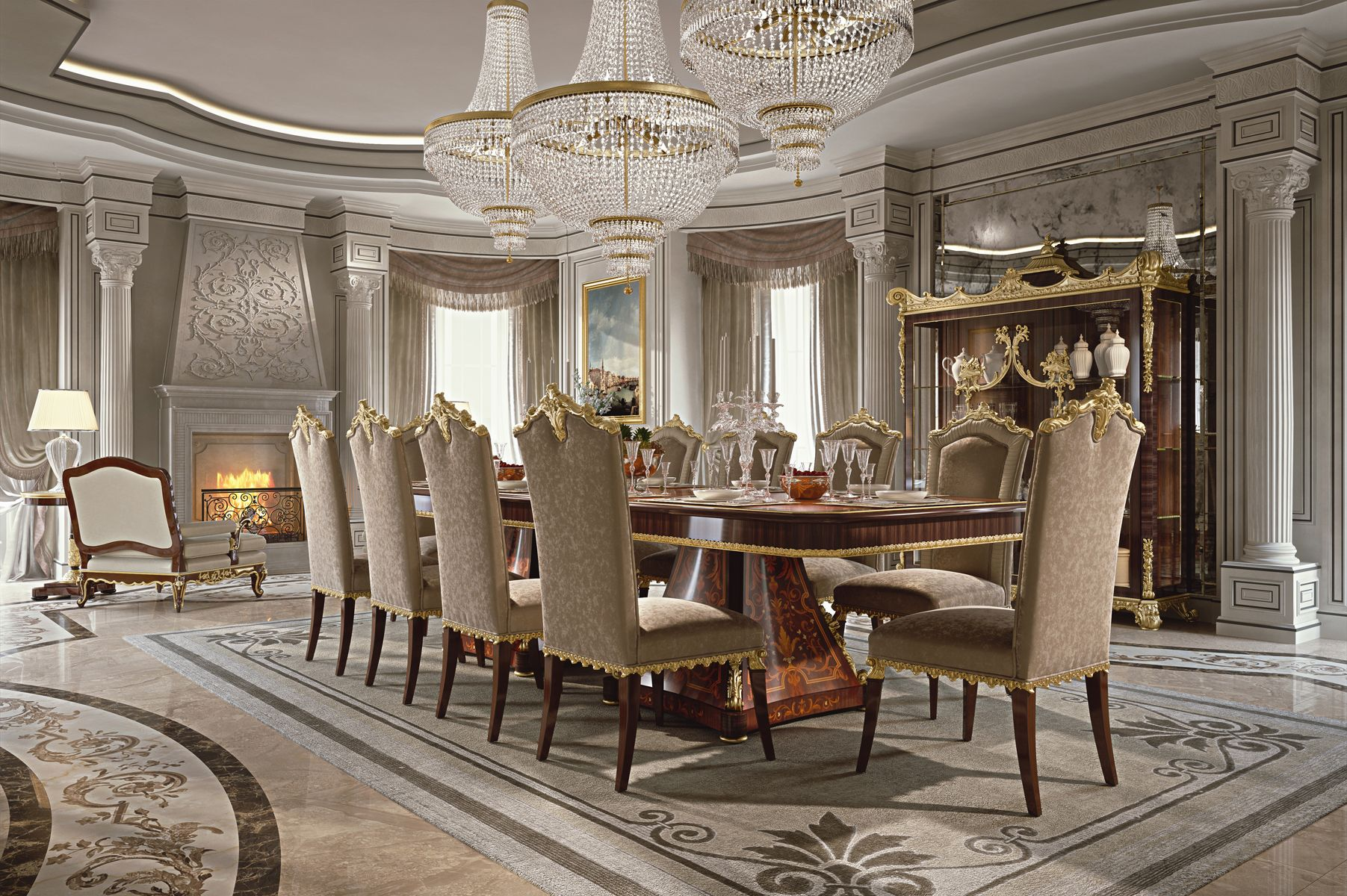 Luxury dining room from the timeless Classic Collection ...