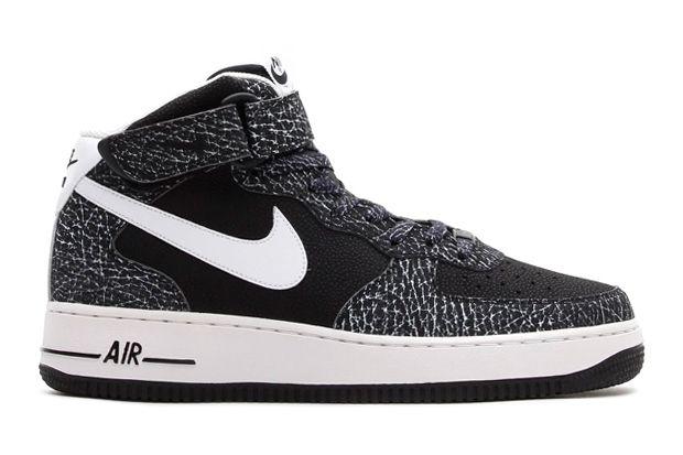 Nike Air Force 1 Mid \u002707 Black/White