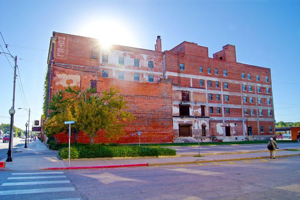 Duncan Hotel Pawhuska Oklahoma Y Old Decommissioned I Think They