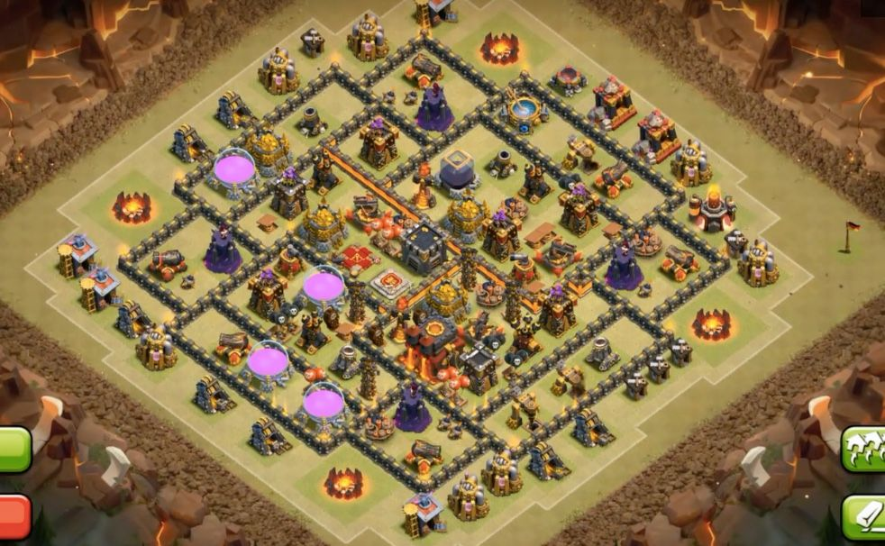Th Star War Base Town Hall Clash Of Clans Star Wars