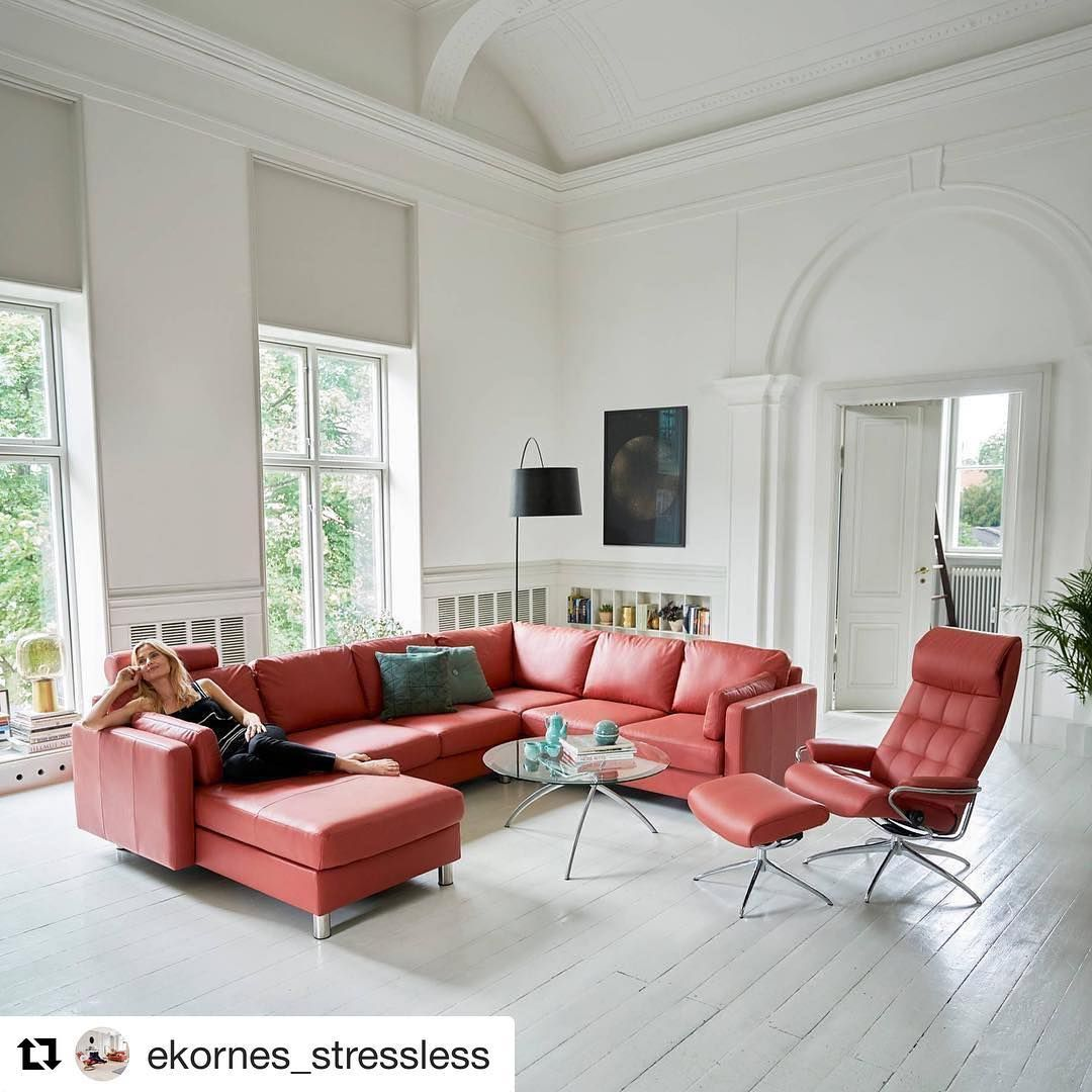 Friday's Are For Lounging You Can Find @ekornes_stressless