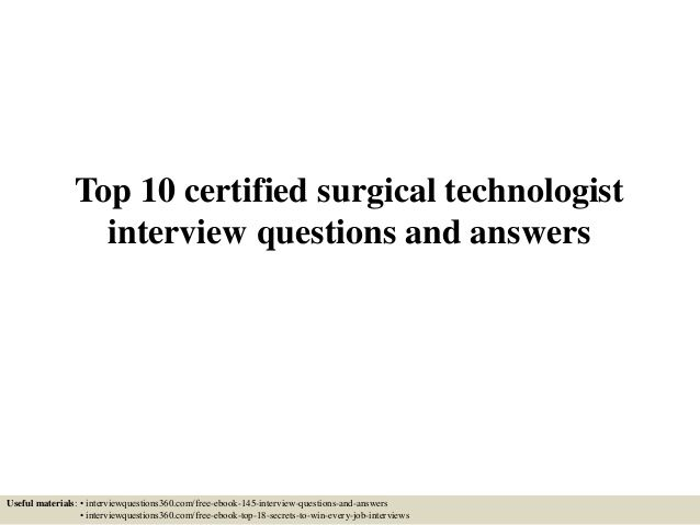 So you pass sponges right? A blog post about the duties of a - surgical technician resume