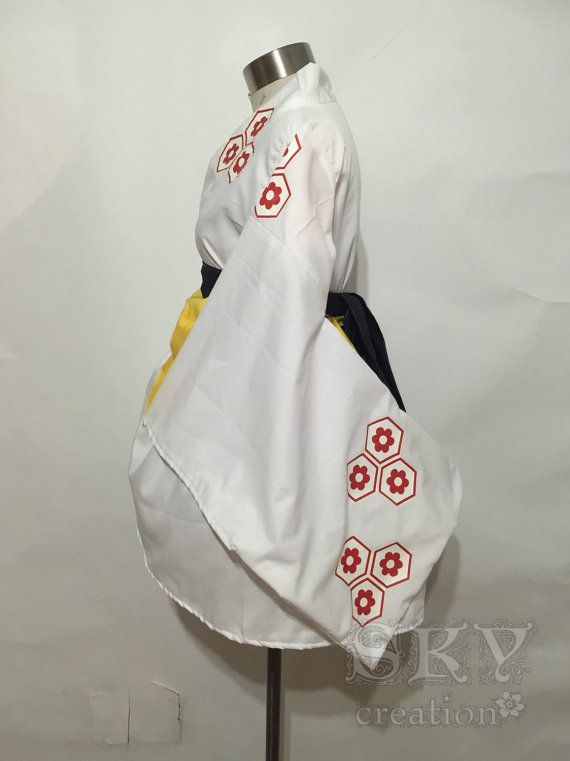 Sesshōmaru Kimono Dress for Japanese Princess Leia cosplay