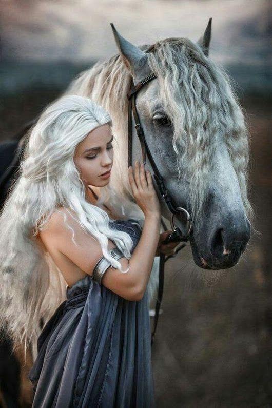 Weibliche Pferde