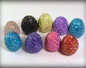 Game of Thrones Inspired Dragon Eggs ((Set of 3)). $6.00, via Etsy.