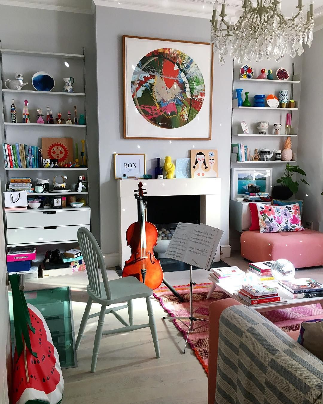 Home Design Ideas Instagram: Geraldine Tan On Instagram : Here S My Happy Mess At Home