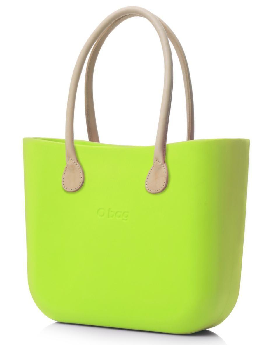 Neongröna väskan O Bag från italienska Fullspot. Här har du möjlighet att  designa din egen 37807514fc4d0