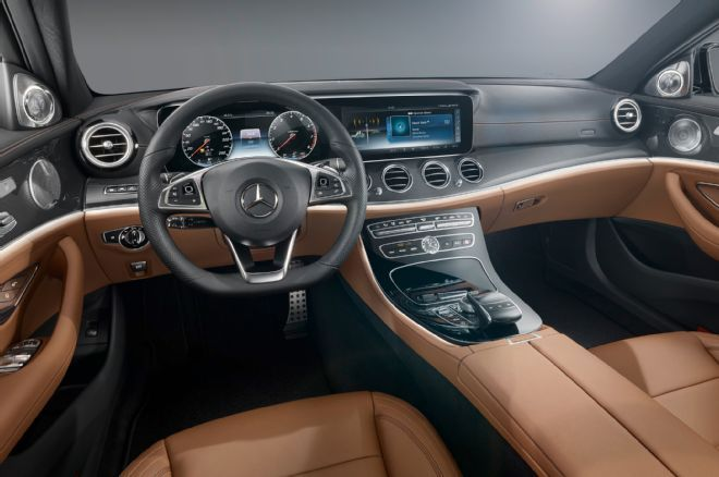 2017 Mercedes Benz E Class Interior Gets S Class Charm Upgraded