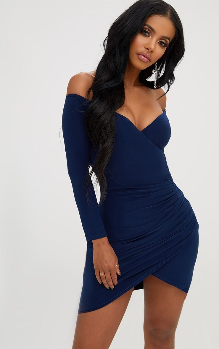 14++ Blue ruched bodycon dress ideas in 2021