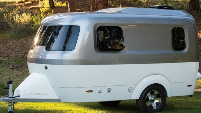 Der Moderne Wohnwagen Nestcaravan Wohnwagen Wohnwagen