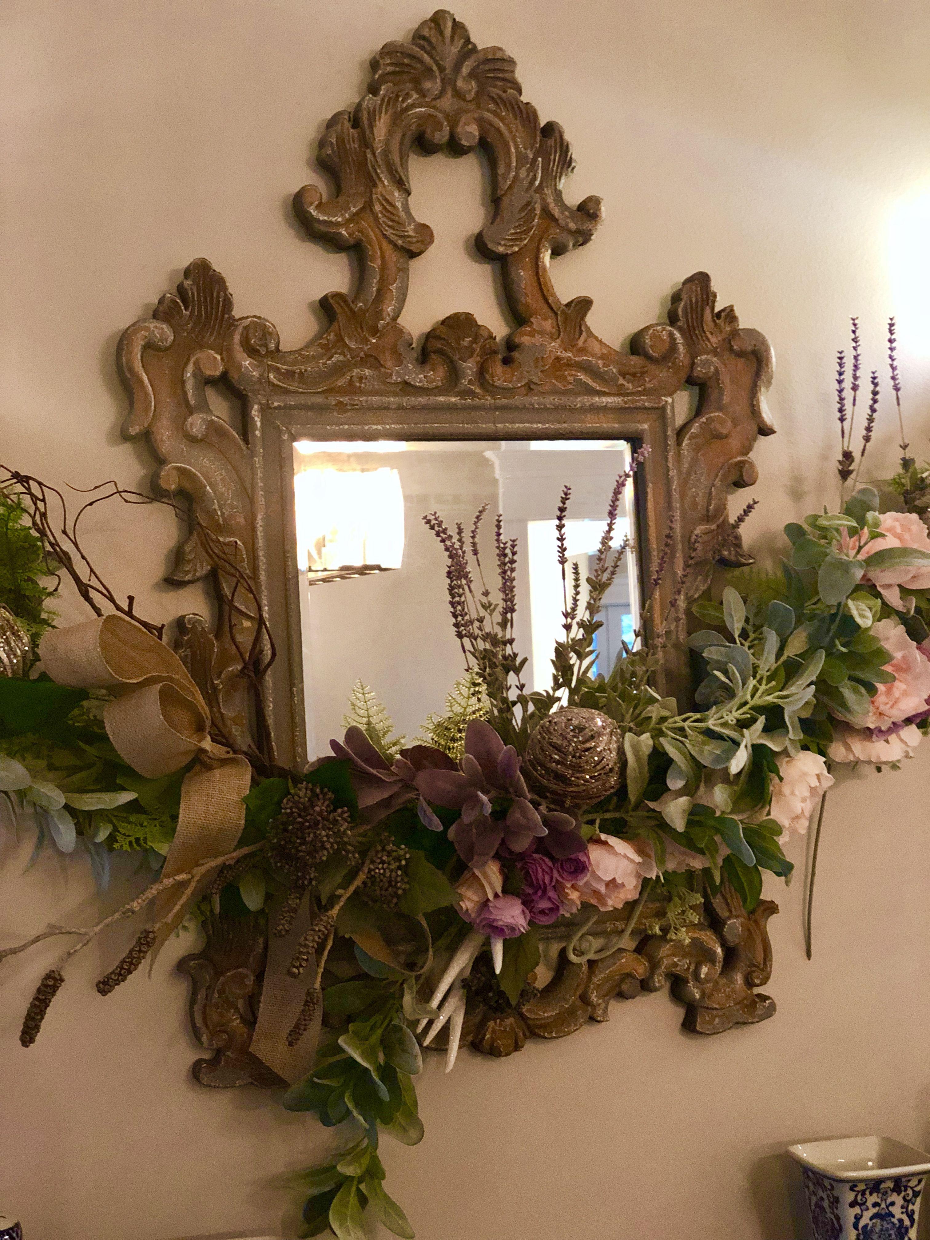 Garland for Amy diy floral wedding Decor, Garland