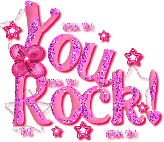 You Rock Beautiful Pink Glitter Graphic Laborday I