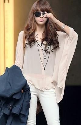 New Womens Pink Blouse Tops