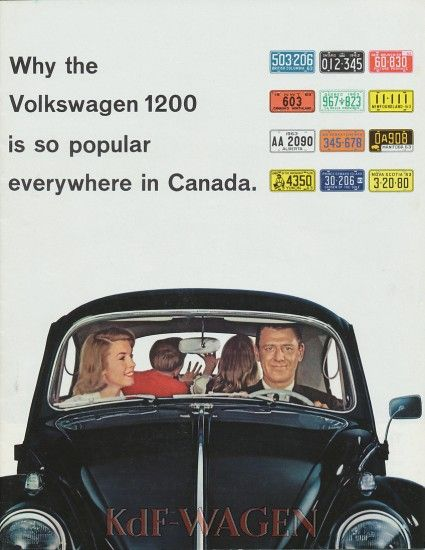 VW - 1963 - Why the Volkswagen 1200 is so popular everywhere