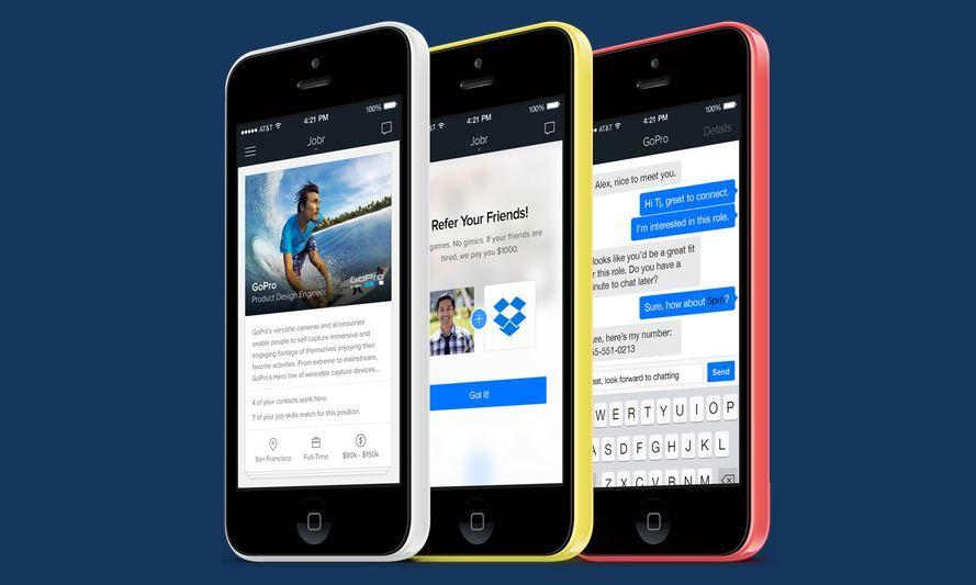 Jobr, le Tinder de la recherche du0027emploi - best job search apps