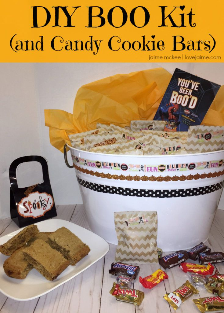 Make your own boo kit and twix cookie bars solutioingenieria Image collections