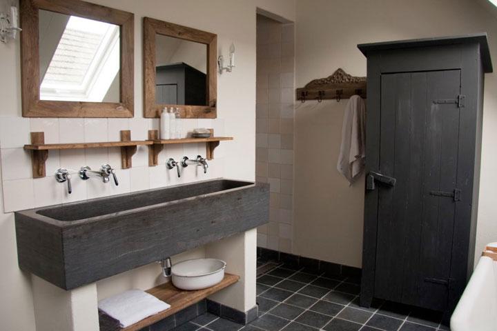 Spiksplinternieuw Landelijke badkamer ideeën: voorbeelden en tips | Landelijke SQ-06