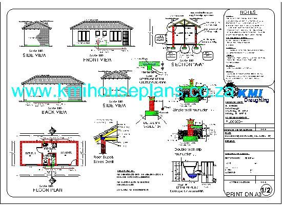 Nice Flat Roof House Plan