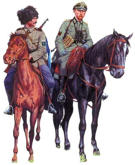 развивалась его цветные картинки кавалеристов взрослых