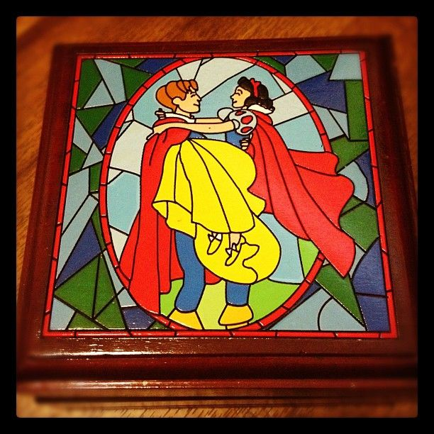 My Snow White jewelry box disney dork Pinterest White