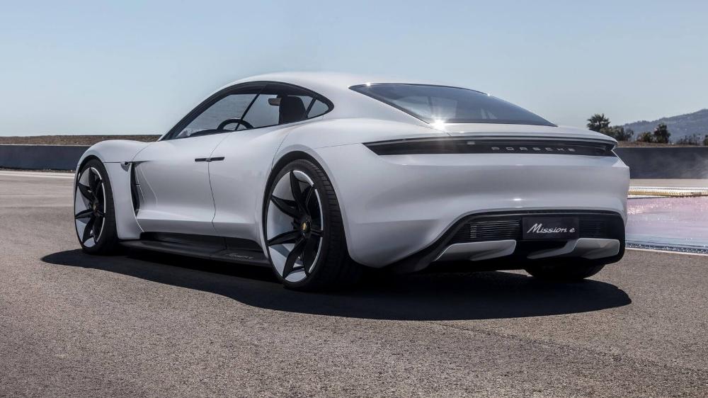 Porsche S New Electric Car Has A 100 Vegan Leather Interior Porsche Taycan Porsche Mission Electric Sports Car