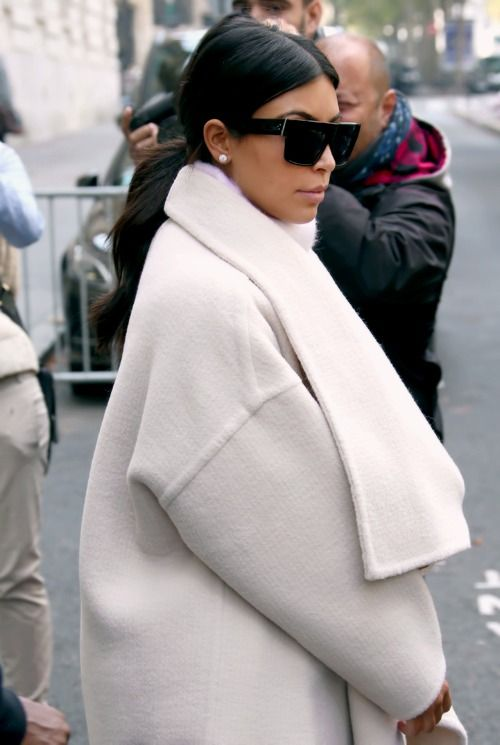 2d1274e5f0ce Kim Kardashian wears the most beautiful Celine sunglasses. From   celinezztop to  celineshadow she knows how to make a statement.