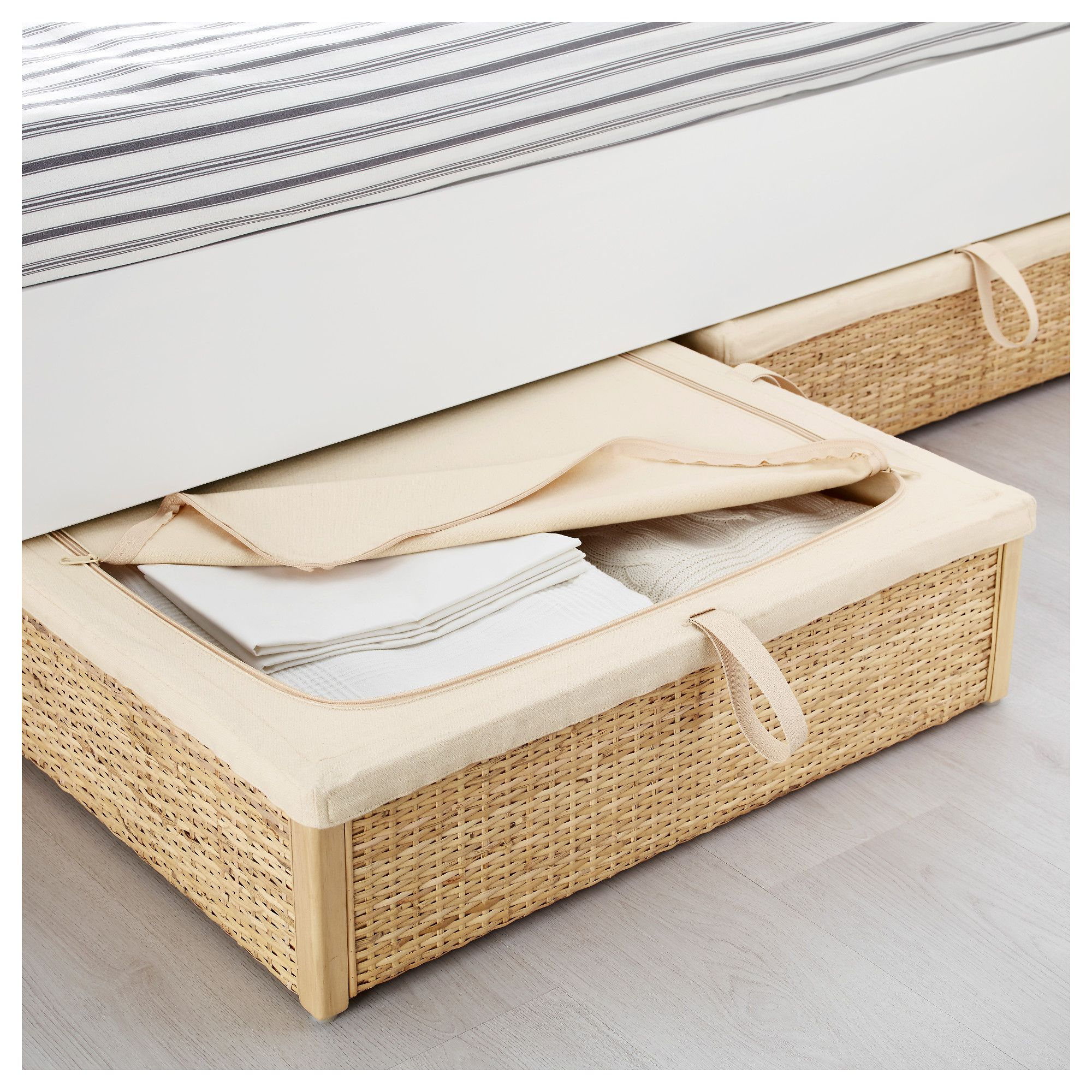 IKEA RMSKOG bed storage box Turns the space under your bed into a smart  place for