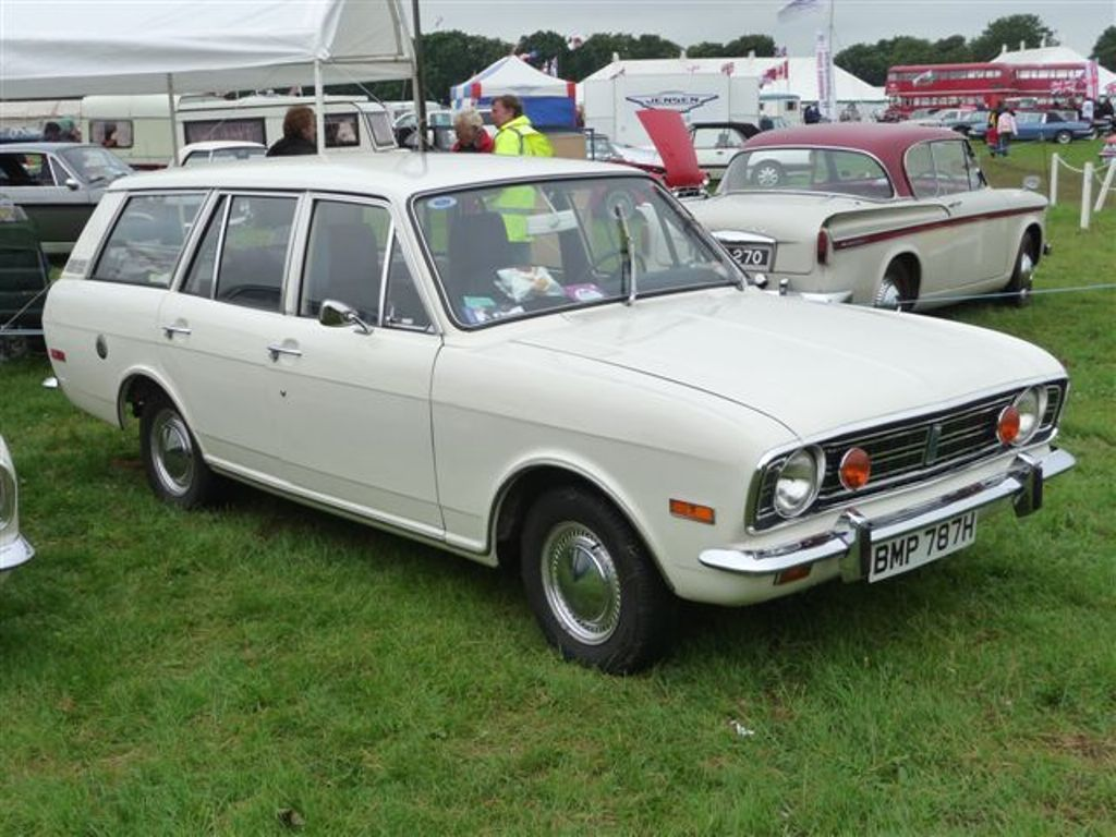 1970 Ford Cortina Deluxe 1600 Mk Ii Estate Ford Classic Cars