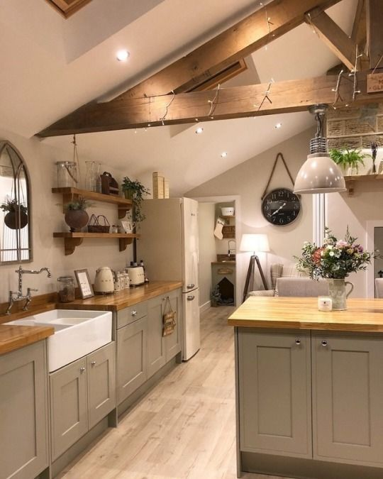Charming Rustic Kitchen Ideas And Inspirations: Rustic Farmhouse Kitchen Ideas