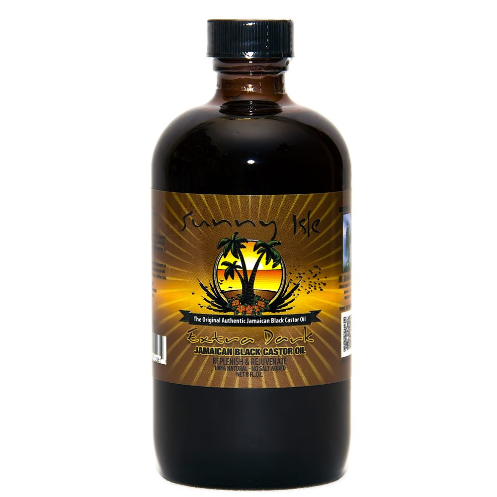 Sunny isle extra dark jamaican black castor oil large jamaica