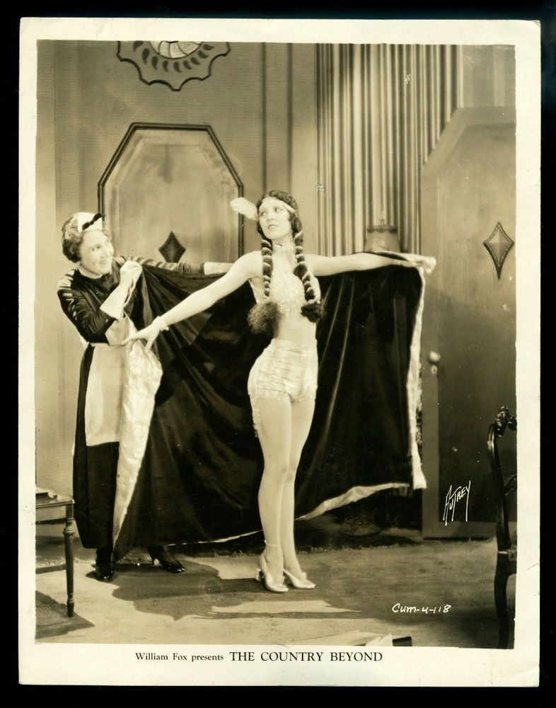 Vintage HOLLYWOOD PINUP Studio Photo 1930s OLIVE BORDEN