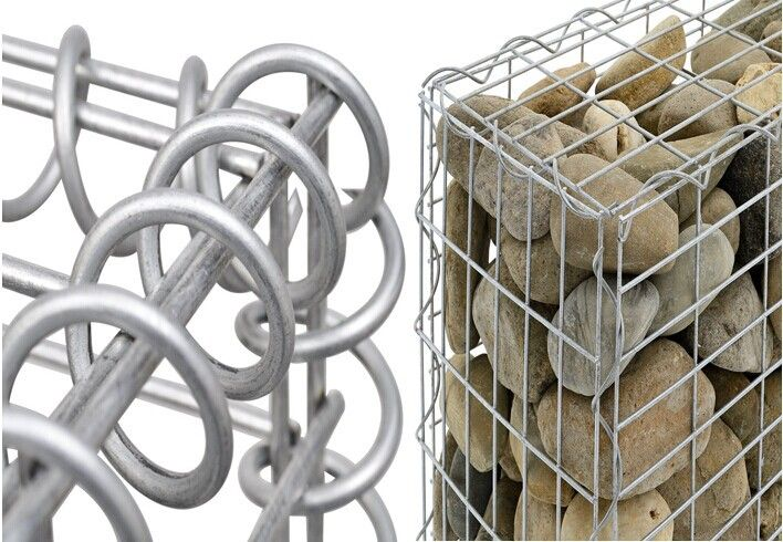 Galvanized Welded Gabion Basket Wire Cages Rock Retaining Wall For France View Galvanized Welded Gabion Shu Retaining Wall Rock Retaining Wall Gabion Baskets