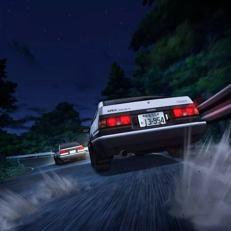 Initiald Takumi Ae86 Mobil