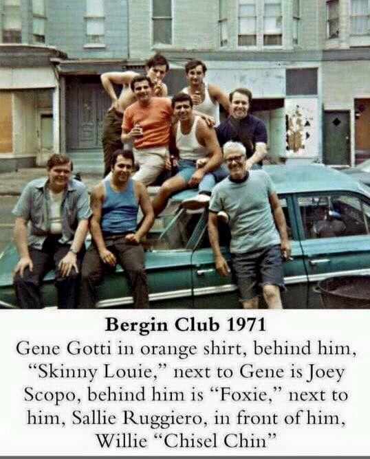 Gotti crew mafia pinterest mafia gangsters and mobsters for Bergin hunt and fish club