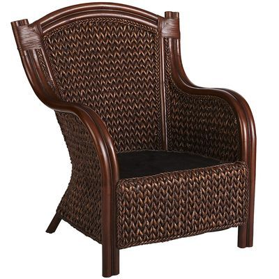 King Armchair Love This Chair I Purchased 2 Of This Chair Off Craigslist For 200 For The Pair I Love It Ev Wicker Armchair Wicker Chairs Wicker Furniture
