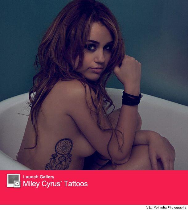 Miley cyress nude pic vanity fair