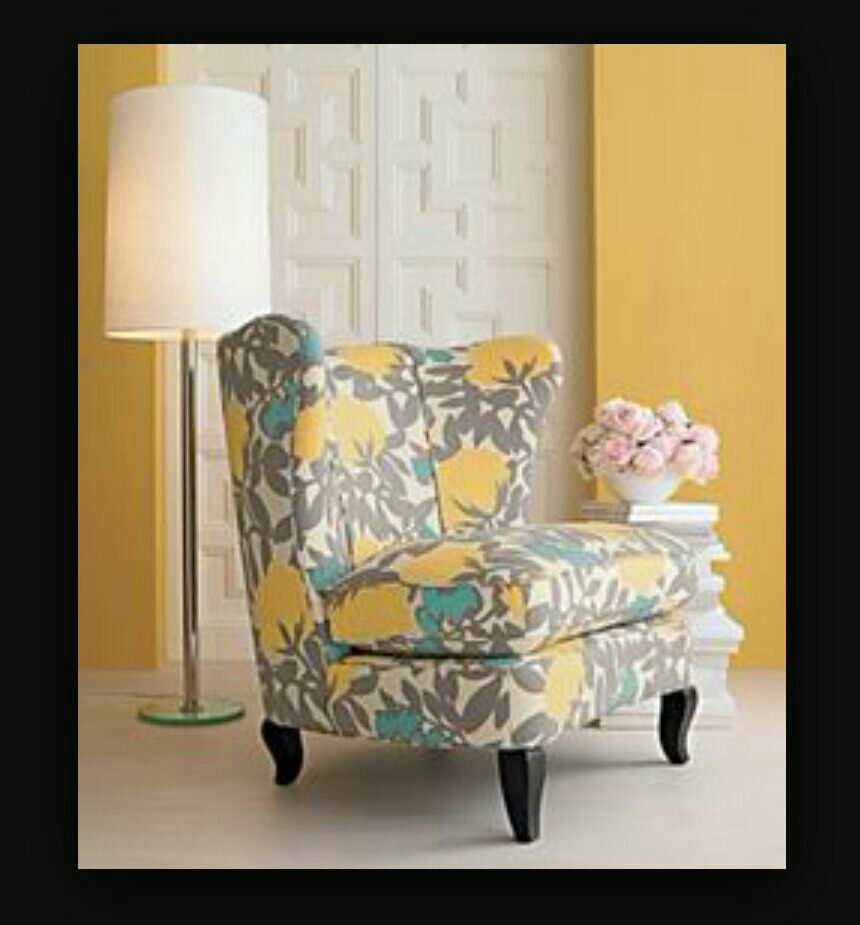 Color Scheme I Need This Chair Turquoise Accent