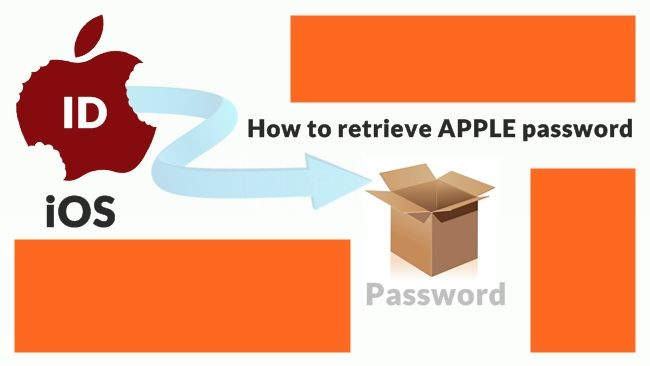 method to retrieve apple's id password | iPhone | Retrieve