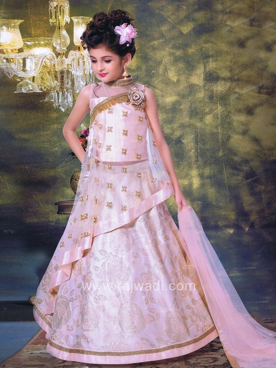 4b05111a2 Cute #Little Girl wearing #Beautiful #Lehenga | Designs | Kids dress ...