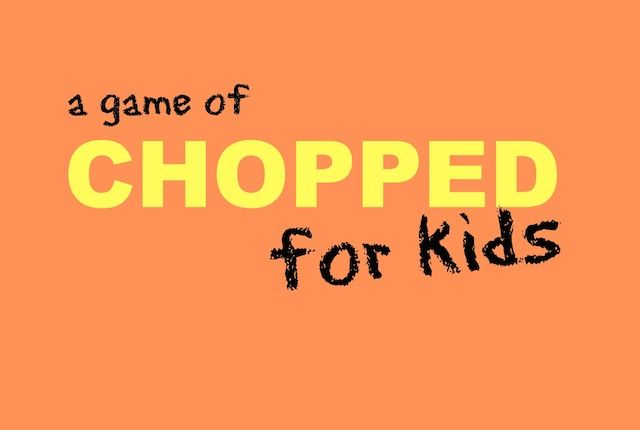 Playing A Game Of Chopped For Kids Cooking Games For Kids
