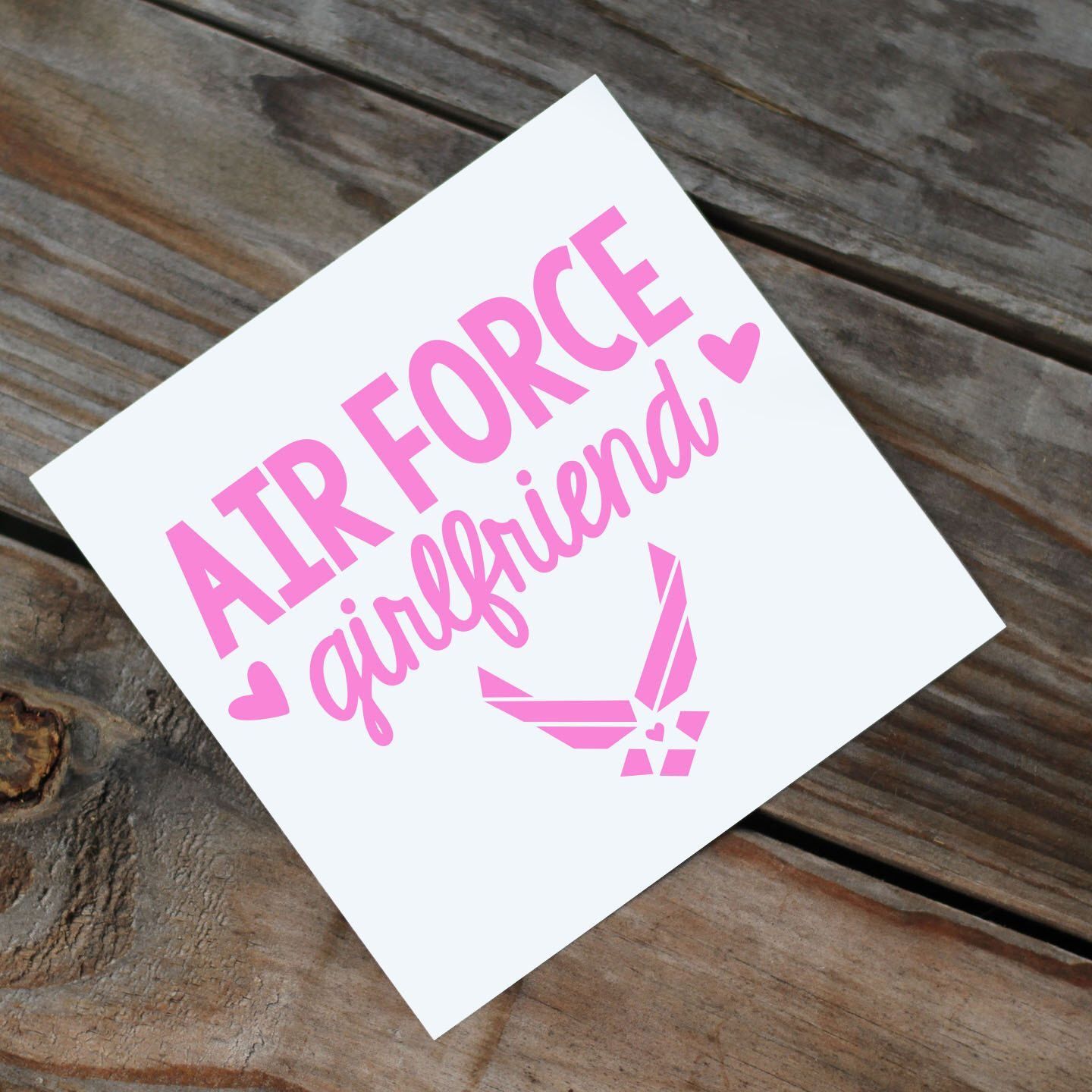 Air Force Girlfriend/Wife/Mom/Etc Decal by