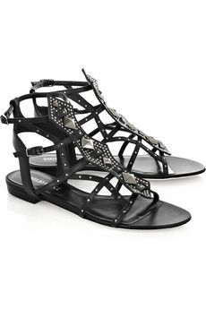 eclectic gladiator slippers | Eclectic Jewelry and Fashion: The Demise of the Gladiator Sandal!?