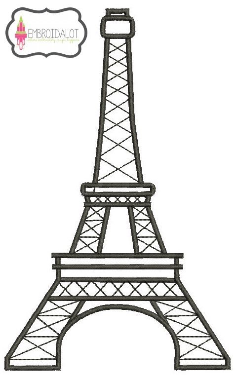Eifel 3 Sizes Embroidery Pinterest Embroidery Machines And